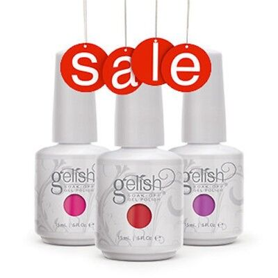Gelish HARMONY Base Soak-off Patent Pending Gel Color Nail Polish 15ml ORIGINAL