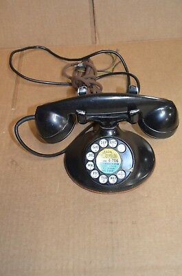 VINTAGE! ART DECO BELL / WESTERN ELECTRIC TELEPHONE PHONE D1 - 1920's - 1930s