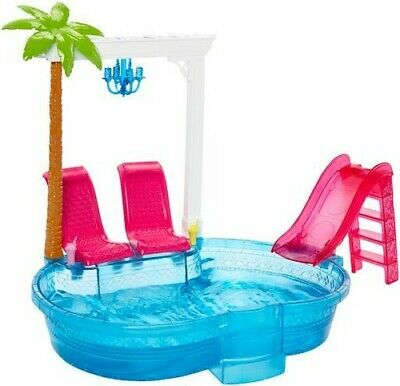 Mattel - Barbie - Pool [New Toy] Paper Doll, Toy
