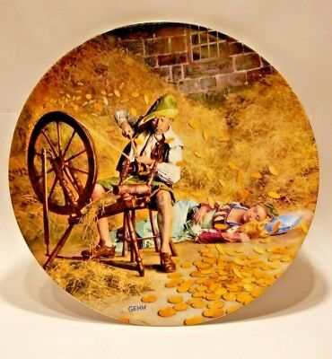 GEHM COLLECTION PLATE RUMPELSTILZCHEN COLLECTOR PLATE by Gehm -AUTHENTIC