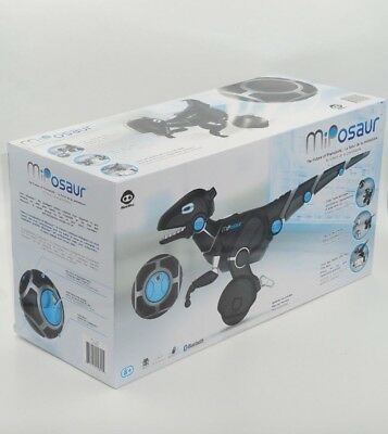 WowWee Miposaur Robot with TrackBall Drive and Battle with FREE APP Brand NEW