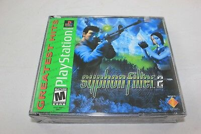 Syphon Filter 2 (Sony PlayStation 1 2000) Greatest Hits Brand New Factory Sealed
