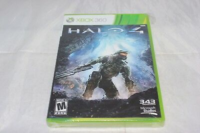 Halo 4 (Microsoft Xbox 360, 2012) Brand New Factory Sealed Wear to Seal