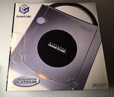 Gamecube Platinum Silver Limited Edition Console BOX ONLY Nintendo
