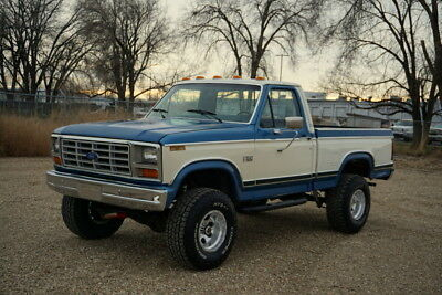1982 Ford F-150 F150 1982 Ford F150 XLT 4x4. Rare Combination. 1 Family Ford