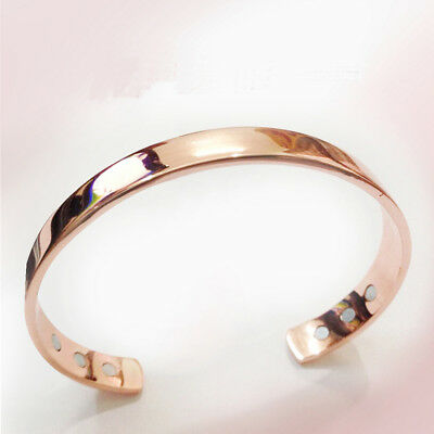 Magnetic Copper Bracelet Healing Bio Therapy Arthritis Pain Relief Bangle Gifts