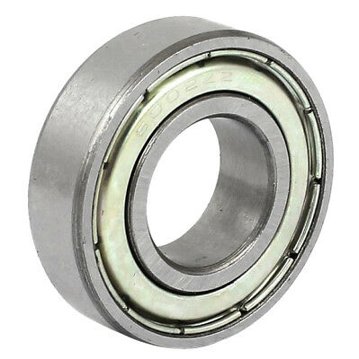 6002ZZ 15x32x9mm Metal Sealed Double Shielded Deep Groove Ball Bearing F7Q6