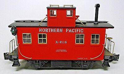 Northern Pacific Bobber Caboose-G Scale