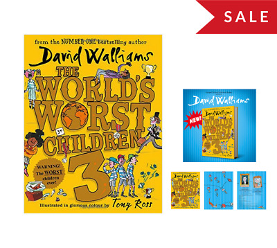 The Worlds Worst Children 3 Hardcover Book By David Walliams (NEW Hardback)