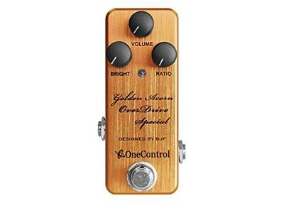 One Control Golden Acorn OverDrive Special Overdrive Pedal from japan