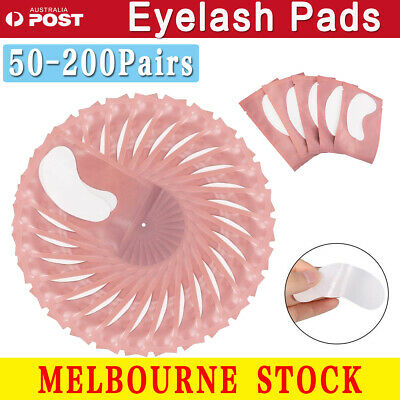 50-2000 pairs Eye pads Eyelash Pad Gel Patch Lint Free Lashes Extension Mask AU