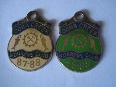 Dora Creek Workers Club Badges