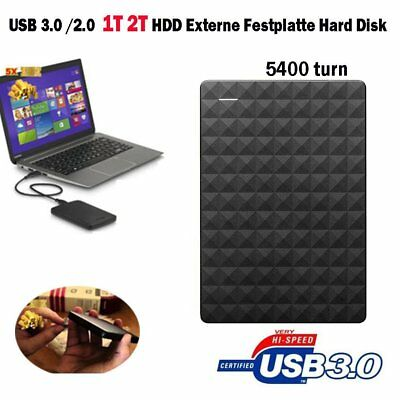 "1TB 2TB DRIVE HDD external hard disk USB3.0 2.5 ""expansion storage Festplatte DF"