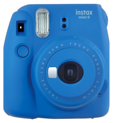 """Instant camera Fujifilm  Instax Mini 9 """" Cobalt-blue """"SHIPPED IN TIME FOR XMAS"""