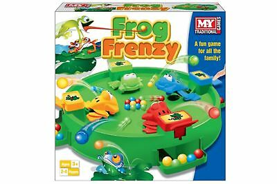 Frog Frenzy Family Toy Children  Family Games Rush to Win Ball Hungry Frog NEW