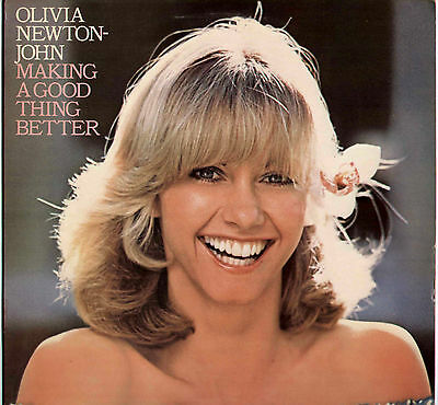 Olivia Newton John~Making A Good Thing Better~1977 Uk 11-Track Lp + Lyric Inner