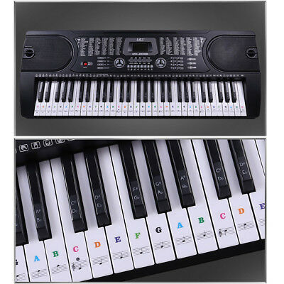 Piano key Sticker Music Keyboard Stickers Piano Memory Learning Help Decal Tool