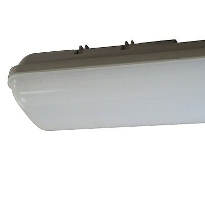 SAXBY Anti Corrosive 4FT 19W Single Outdoor IP65 Waterproof LED Ceiling Light