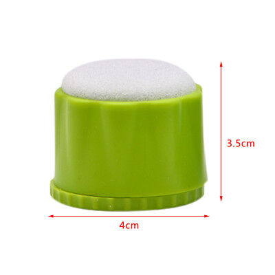 1X Dental File Disinfection Acupuncture Cleaning Box Round Endo Stand Blue/Green