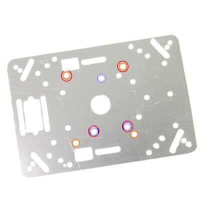 Smart Car Chassis (Acrylic Plate) Avoidance Remote Control Car Kit Parts