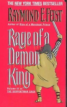 Rage of a Demon King - NEW - 9780380720880 by Feist, Raymond E.