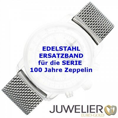 Spare Band, Stainless Steel Milanaise 22 mm Wide for Zeppelin Watches