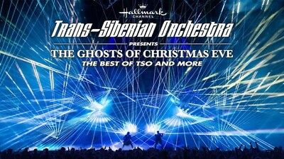 2 Trans-Siberian Orchestra Tickets - New Orleans -Sect. 316, Row 15, Seats 13-14