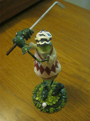 Green Frog Golf Figure 5 1/2 inches tall