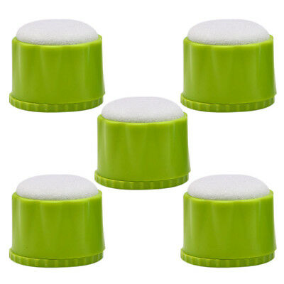 5X Dental File Disinfection Acupuncture Cleaning Box Round Endo Stand Blue/Green