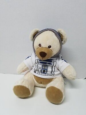 Build a bear Star Wars Teddy plush in R2-D2 hoodie