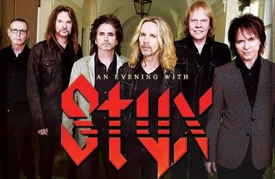 2 STYX & NIGHT RANGER Tickets ~ Premier Row D ~ Thunder Valley