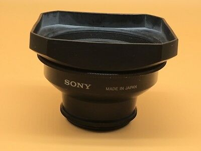 Sony 0.7x Wide Conversion Lens For 52mm Filter Ring - (#8)