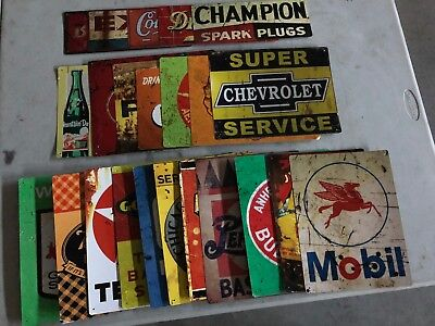 MAN CAVE Tin Sign Garage Basement Game Room LOT OF 23 with FREE SHIPPING!!!