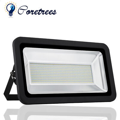 500W LED Floodlight SMD Security Flood Light Warm White Outdoor IP65 Wall Lamp