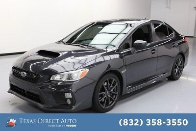 2018 Subaru WRX Premium Texas Direct Auto 2018 Premium Used Turbo 2L H4 16V Manual AWD Sedan
