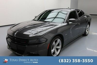 2016 Dodge Charger R/T Texas Direct Auto 2016 R/T Used 5.7L V8 16V Automatic RWD Sedan