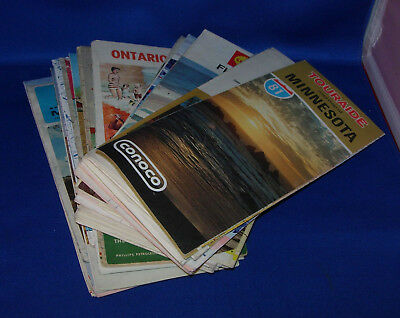 (23) Vintage Road Maps Skelly,AAA, Phillips 66, Texaco, Standard      Inv. O132