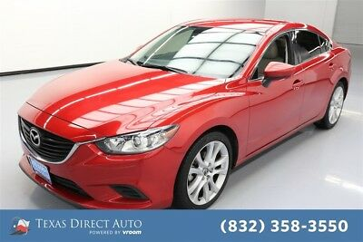 2016 Mazda Mazda6 i Touring Texas Direct Auto 2016 i Touring Used 2.5L I4 16V Automatic FWD Sedan Premium