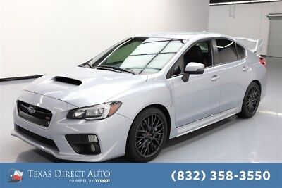 2015 Subaru WRX STI Texas Direct Auto 2015 STI Used Turbo 2.5L H4 16V Manual AWD Sedan Premium