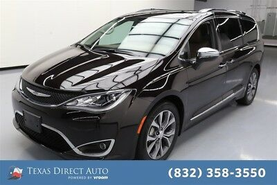 2017 Chrysler Pacifica Limited Texas Direct Auto 2017 Limited Used 3.6L V6 24V Automatic FWD Minivan/Van