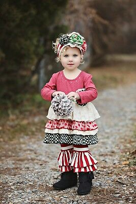 NWT Mustard Pie Holiday Lily Tunic Set 12 Month