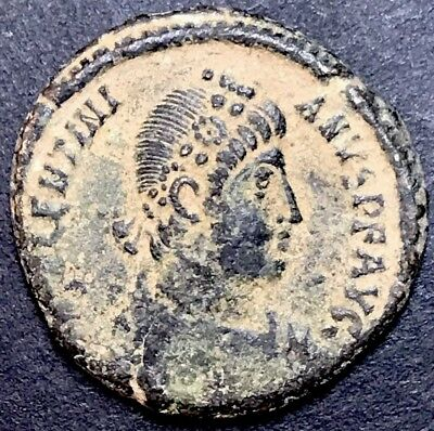 Valentinian I AE2. Ancient Roman Imperial Coin. Antioch Mint.