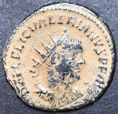 Valerian I (The Elder)AE Antoninianus. Ancient Roman Imperial Coin. Sandy Patina
