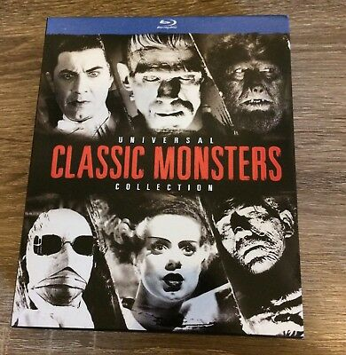 universal classic monsters collection Dracula Frankenstein The Mummy