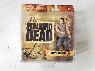 AMC The Walking Dead Series One Daryl Dixon by McFarlane Toys, Rough Packaging