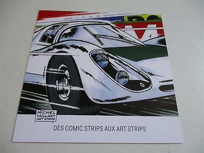 Card Porsche 906 Michel VAILLANT comic arts strips 24 h Le Mans LM carte