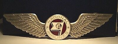 1940's NATIONAL AIRLINES Flight Attendant Wing 1st Issue