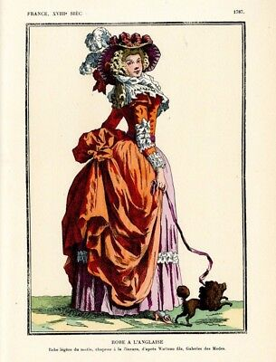 XVII, XVIII  SEWING PATTERNS  - costumes for ladies & men (many uniforms)