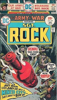 "Dc Our Army At War Sgt. Rock #279,283 Apr,aug 75 ""bushiro-Rendezvous!"" Kubert"