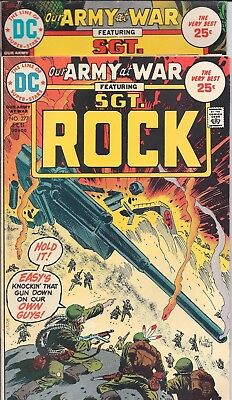 "Dc Our Army At War Sgt. Rock  #277,278 Feb,mar 75 ""a Helping Hand!"" Joe Kubert"
